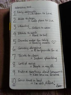 grateful list